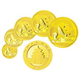 2016 熊猫金币5枚套币 | 基础商品