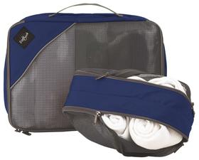 【秒杀产品】美国Eagle Creek打理组合套装(蓝色双面衣物整理袋[EC4014061]&黑色衬衣整理袋(中)[EC4015404)
