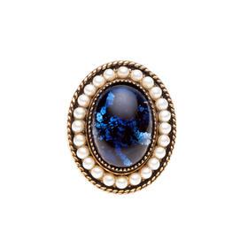 琉璃金粉戒指(三款可选)材质: 铜镀18K金 琉璃 金粉 珍珠