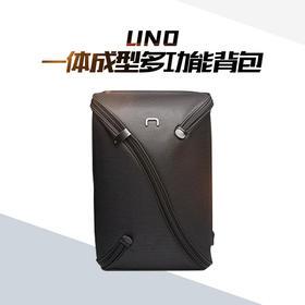 《型男必备》UNO一体成型背包(黑)