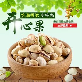 【年货必买】原味开心果净重500克/袋特产无漂白坚果炒货休闲零食