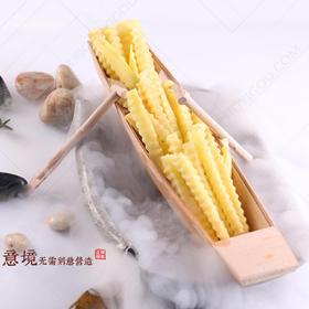 木质盛器【004】创意菜餐具 创意盛器 创意木器船
