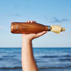 【S'well Bottle】美国木纹系列不锈钢保温瓶 (小号260ml  大号500ml)