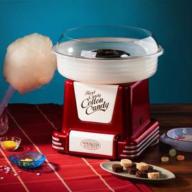 美国Nostalgia Electrics金属红复古棉花糖机