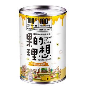 【有赞年味】果的理想 蜂蜜黄桃罐头6罐装礼盒 无任何添加防腐