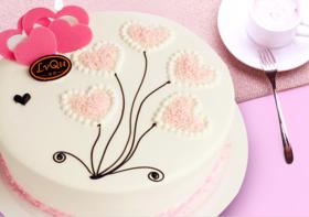 爱的火苗~乳脂奶油蛋糕