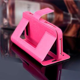 单开窗 万能硅胶皮套 通用免打孔翻盖硅胶手机皮套 保护壳