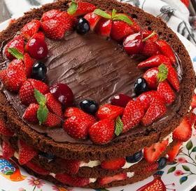 森林裸蛋糕~鲜果健康乳脂