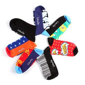 【潮】男士长筒袜 天才发明家