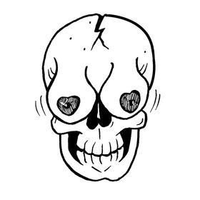 原创图 | 淫笑骷髅系列之二 by 七哥