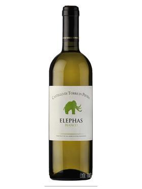 【真】意大利原装进口 Elepas Bianco 2013 有机干白葡萄酒 750ml 包邮