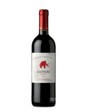 【真】意大利原装进口 Elepas Rosso 2014 有机干红葡萄酒 750ml 包邮