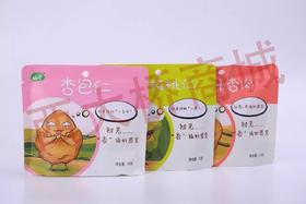 【酷町卡通版组合4件套】树上干杏+杏包核桃仁+杏包仁+树上干杏肉