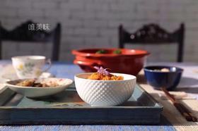 外贸 A级真骨瓷 英伦风白色饭碗甜品碗水果碗 6件套