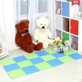 十六平方高档彩色泡沫地垫 (60*60cm加厚 ¥36.00/套 一套四片 不含安装费)
