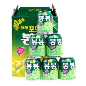 韩国进口 海太葡萄果汁饮料 238ml