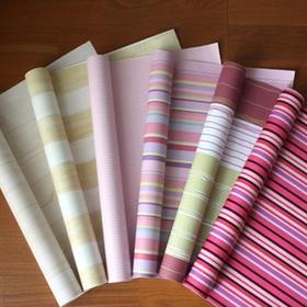 十六平方高档无纺布墙纸 (¥53.00/卷 不含安装费 13种花色可选)