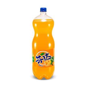 芬达 橙味碳酸饮料汽水 2.5L