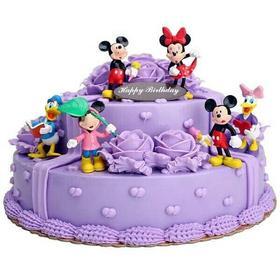 迪士尼乐园~儿童天然乳脂蛋糕