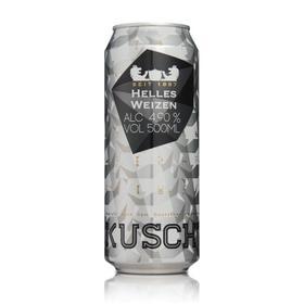 4.9°德国 库斯特原浆特酿小麦白啤酒 500ml