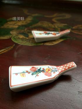 陶瓷彩绘 喜上眉梢筷搁