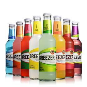 4.8°百加得冰锐朗姆预调酒8种口味套装