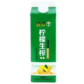 健园 柠檬生榨果汁 1L