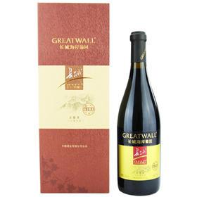 12.5°长城海岸葡园 金庄甄选赤霞珠干红葡萄酒(干型)750ml