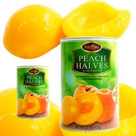 [天天罐养]黄桃  菠萝  蜜桔  罐头零食早点方便食品甜点12罐一箱