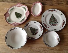外贸 陶瓷纪念版英伦风 节日主题6件套 包邮