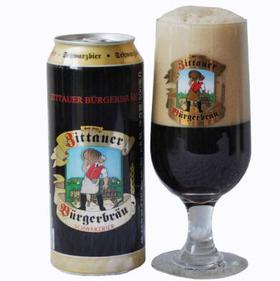 4.8°德国 兹塔伯格黑啤酒 500ml×24