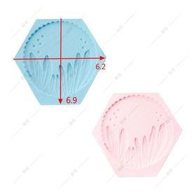 翻糖硅胶模具 干佩斯 水草 小草 海洋系 森林系 植物 小泡泡
