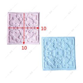 翻糖 硅胶模具 干佩斯  机理模 蕾丝花纹 墙砖 瓷砖 装饰