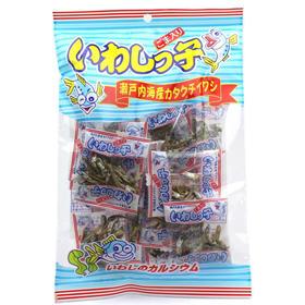 【3号库】日本进口零食品泉屋小鱼干补锌补钙 迷你15小包加芝麻