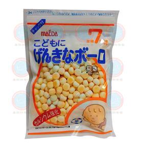 【3号库】日本进口大阪前田奶豆婴儿小馒头宝宝淀粉饼干88g高钙