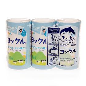 【3号库】日本和光堂婴儿乳酸菌/酸奶饮料KK4 高钙有助生长 6个月