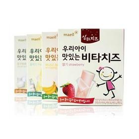 【3号库】韩国每日乳业 婴幼儿无糖维他奶酪草莓/香蕉/原味奶酪 无酸奶