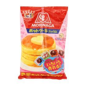 【3号库】日本森永亲子自制营养热香松饼粉/宝宝蛋糕粉/蒸糕粉 150g*4袋