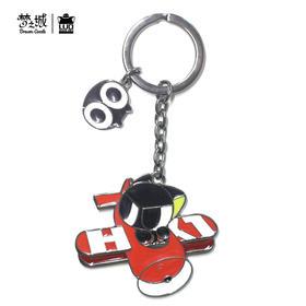罗小黑可爱卡通汽车钥匙扣小挂件