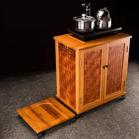 可拆茶几桌 电磁炉茶道零配祥福 现代简约茶水柜 时尚雅致茶柜