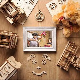 """【可拼装的""""成人玩具""""】乌克兰ugears木质机械传动模型DIY创意新奇礼物装饰摆件"""