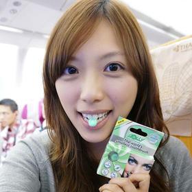 6只世界上小的咀嚼式牙刷 意大利进口罗利Rolly Brush懒人牙刷