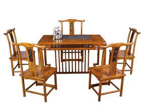 花梨木实木功夫茶台放电磁炉红木泡茶桌茶桌椅组合功夫茶具
