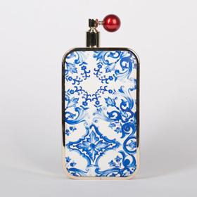 Min Bag 奢华香水瓶造型链条手拿包|青花瓷系列 3 款(加拿大)