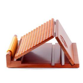 医行天下平板折叠实木拉筋板四档折叠可调节拉筋板