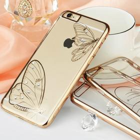 DESOF ICON i控电镀明钻壳苹果iPhone6Plus手机壳iPhone6s保护套