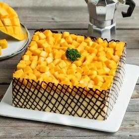 【限时特惠-158元】芒果茫茫蛋糕-2磅(五华)