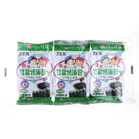 韩国zek竹盐烤海苔