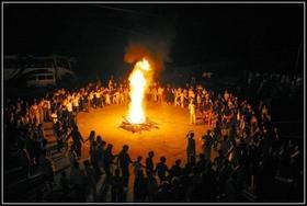 龙山——篝火晚会