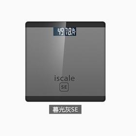 A/iPhone款超薄镜面体重计